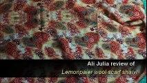 Lemonpaier® new style 100% wool scarf, women warm printing scarf shawl