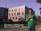 Un bâtiment de bureau passif Minergie P-ECO à Fribourg (CH)