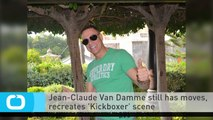 Jean-Claude Van Damme Still Has Moves, Recreates 'Kickboxer' Scene