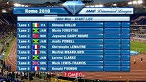 Another 100m win for Asafa Powell - from Universal Sports