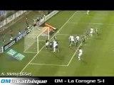 final om-corogne 5-1  final intertoto