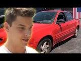 9-latek kradnie samochód, zatrzymany przez nastolatka.