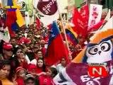 COMANDANTE HUGO CHAVEZ VIVIREMOS Y VENCEREMOS CANCION LLOVIZNANDO CANTOS