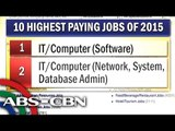 The Philippines' highest-paying jobs