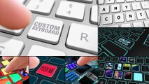 After Effects Project Files - Custom Keyboard - VideoHive 9917187