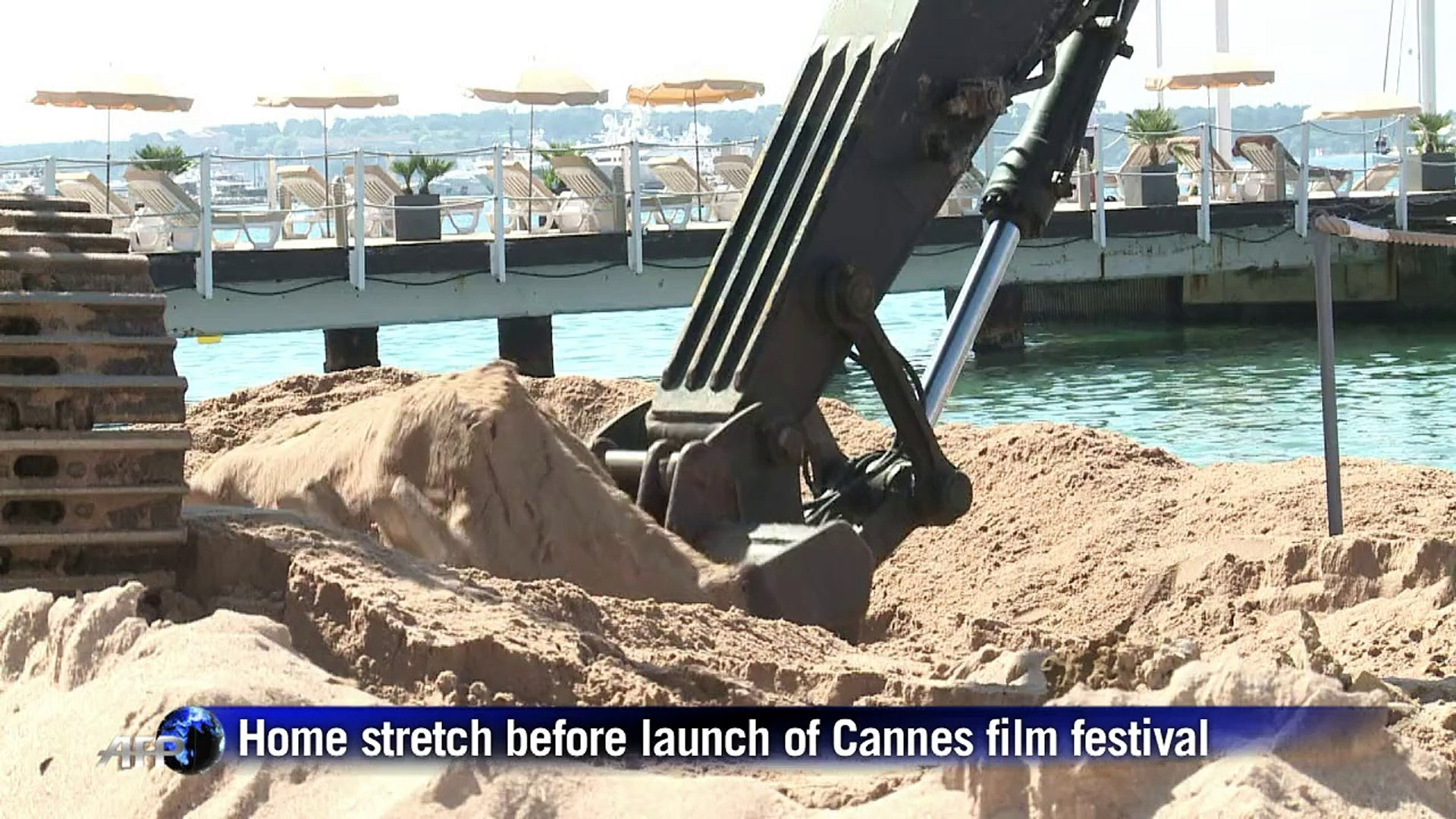 Home stretch before launch of Cannes film festival
