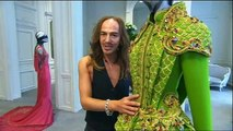 ♦ John Galliano: on some of his creations for the House of Dior ♦