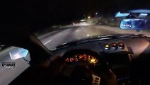 Crazy Nissan 350z Street Racing in Brasil
