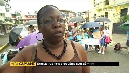 Colère des parents de l'école de Zéphyr