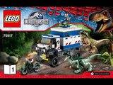 !!NEW!! Lego Jurassic World Raptor Rampage (75917)
