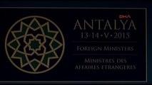 Antalya Bakan Çavuşoğlu, NATO Dışişleri Bakanları Toplantısında Konuştu