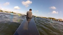 Rower Gets Ejected From Boat - (Ejecting Crab)