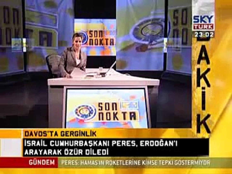 Recep Tayyip Erdogan Davos oturumunu terketti
