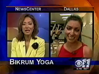 Bikram Yoga Dallas CBS 11 News Feature Story