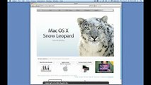 VoiceOver Demo on Apple.com in Snow Leopard