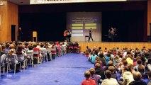 George Street Middle School Inspiration Rally featuring MLA Brian Macdonald