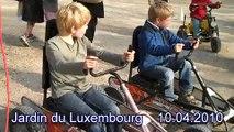 Paris with Kids - Jardin du Luxembourg Go-Karts