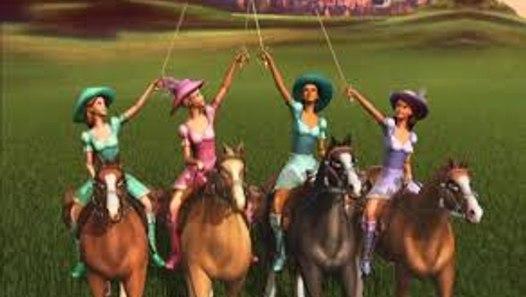 New Kids Cartoons: Barbie Three Musketeers Full Video