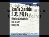 Step by Step Instructions For Filling Out CMS 1500 Forms