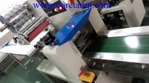 Masks  flow packer machine ,Masks flow wrapping machine ,Wrapping machine for masks