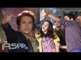 Enrique Gil dances with Cassy & Mavy Legaspi on ASAP