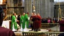 HD - Botafumeiro en la Catedral de Santiago de Compostela / Cathedral of Santiago de Compostela