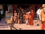 Buck naked Naga sadhus in Varanasi celebrating Maha Shivratri
