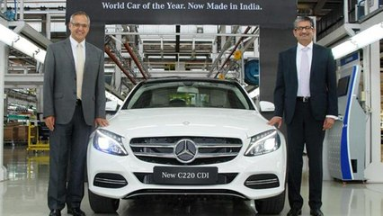 India Made Mercedes-Benz C-Class C220 CDI Diesel Launched