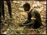 Jarawas planting saplings - Andaman & Nicobar Islands