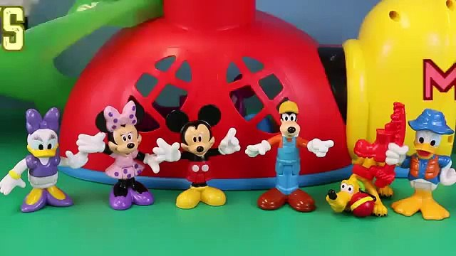 Surprise Toys Mickey Mouse Clubhouse Minnie Mouse Donald Duck Goofy Shopkins Advent Calendar Day 21