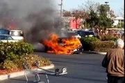 $200,000 2014 Porsche Turbo 911 S Burns to the Ground