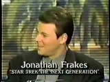 Patrick Stewart and Jonathan Frakes on Good Morning America 1987