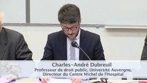 """IMH_20-03-15_Le raisonnable en droit administratif-6-""""Est-il raisonnable d'être prudent ?"""", Charles-André Dubreuil, Professeur de droit public, Université Auvergne, Directeur du Centre Michel de L'Hospital"""