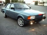 Old Ford Taunus can sill make smoke