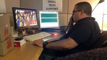 Computer Virus Repair - Funny Tech Support - Euro Cup 2012 - Tech support guy watching Euro Cup 2012