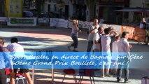Récompenses, Grand Prix de la Ville, Sport Boules, Bagnols-sur-Cèze 2015