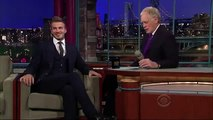 David Beckham on Late Show With David Letterman (Full Interview)