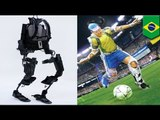 Brain-controlled exoskeleton will allow paralyzed teenager to kick off the World Cup 2014