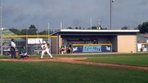 Spencer Allen Schaumburg Seminoles Goes Two for Two Against Dirtbags CABA 17U World Series Ohio