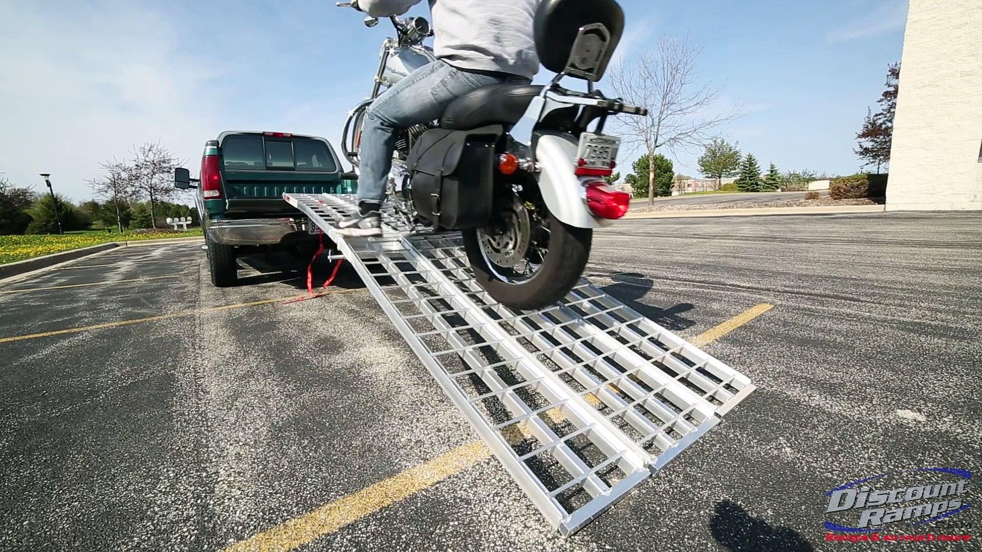 Black Widow M-8440 3-Piece Non-Folding Motorcycle Ramp