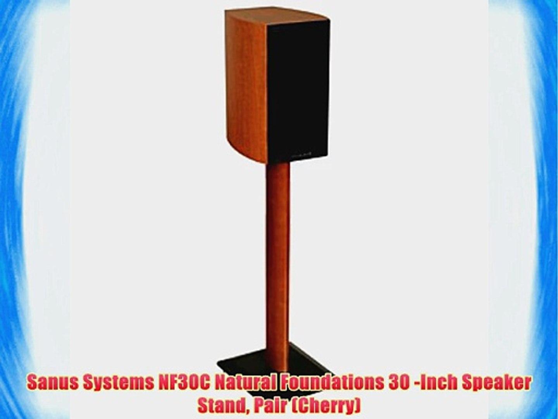 Sanus SF26B1 Black Pr. 26-inch Speaker Stands