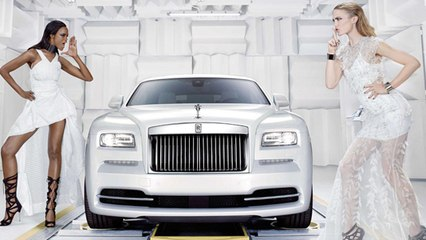 Rolls-Royce Wraith Inspired By Fashion Unveiled