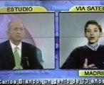Carlos Blanco interviewed by Chiche Gelblung; superdotado Carlos Blanco habla para Argentina.