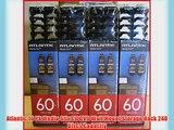 Atlantic 16 Pk Media Stix CD DVD Wall Mount Storage Rack 240 Discs Capacity