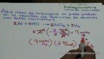 Estequiometría  mol-masa y masa-masa