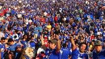 Himno de Universidad de Chile en voz de sus Hinchas - Final Sudamericana 2011