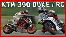Essai KTM 390 RC et DUKE : Le sport moto pour pas cher !