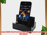 Arcam drDOCK iPod/iPad Dock with 30-pin Connector and Built-In DAC (Black)
