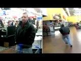 Walmart masturbator caught jerking it in womens bathroom