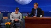 """Jean-Claude Van Damme Recreates His """"Kickboxer"""" Dance Scene  - CONAN on TBS"""